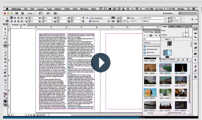 2 indesign tutorial principiantes
