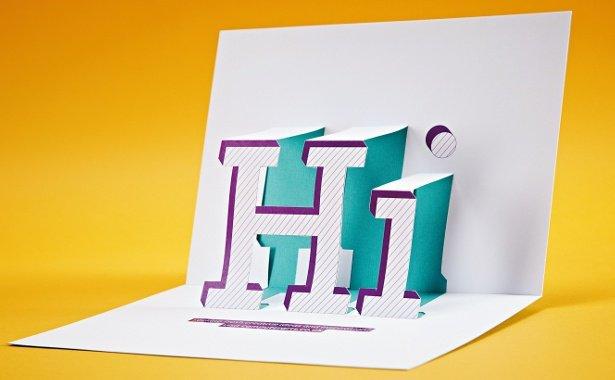 Create a pop-up promo card