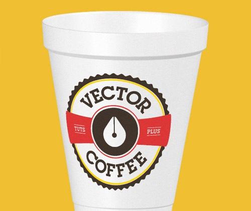 coffeecup1 40 Fresh mejores tutoriales de Illustrator a partir de 2013