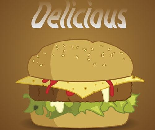 delicousburger 40 Fresh mejores tutoriales de Illustrator a partir de 2013
