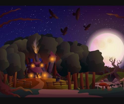 landscapescenery 40 Fresh mejores tutoriales de Illustrator a partir de 2013