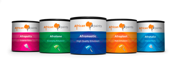 African Paints bucket design by Ahmed Soliman