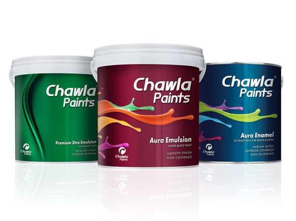 Chawla Paints Packaging by Ammad Khan