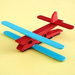 Fácil avión ... Diviértete en familia.  ¡CHOCOLISTO Y LISTO!