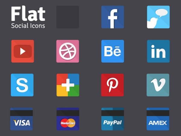 Iconos Sociales Piso