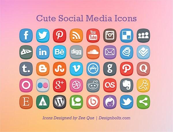 Lindo Social Media Icons