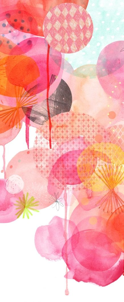 Amy Borrell Print 1 (detail), The Big Bang by Amy Borrell ~ via Little Paper Planes x
