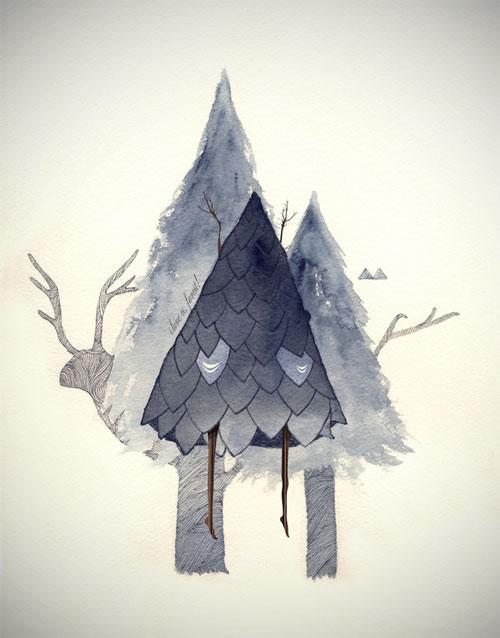 Eika Dopludo illustration illustrator drawing Karina Eibatova