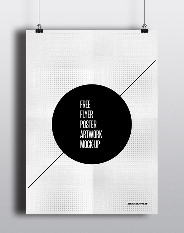 Flyer / Poster Mock-up gratuito