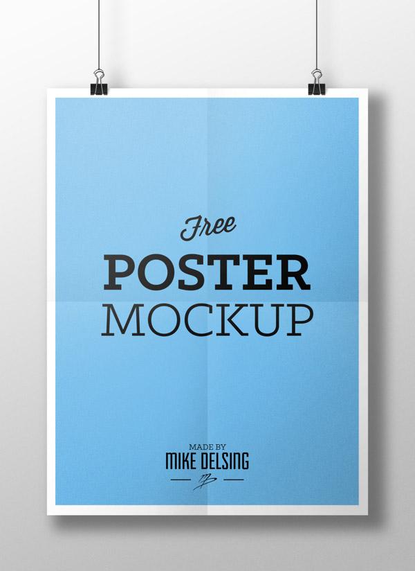 Gratis Poster Maqueta