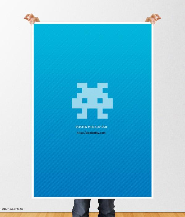Plantilla Maqueta Poster PSD