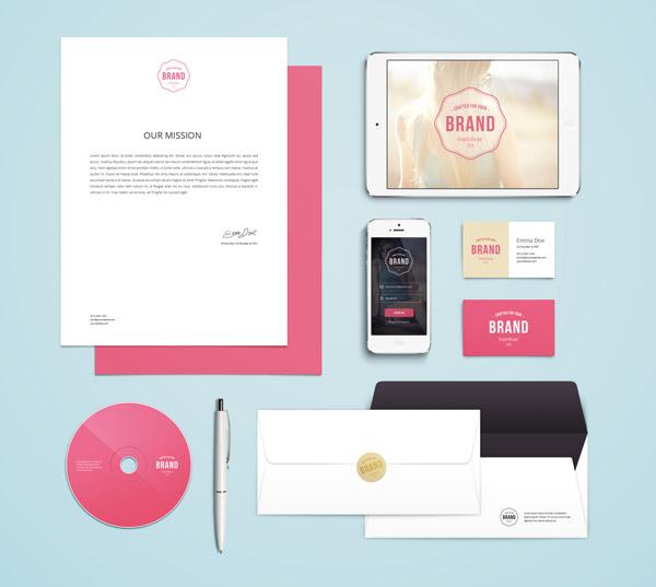 Branding / Identidad Maqueta Vol. 4