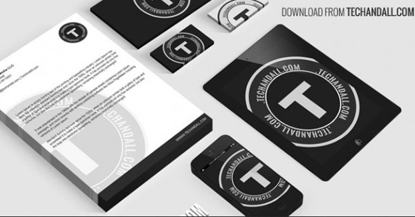 Branding completo Maqueta Identidad