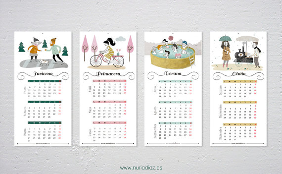 Calendario de pared 2014